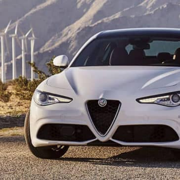 2019 Alfa Romeo Giulia Parked
