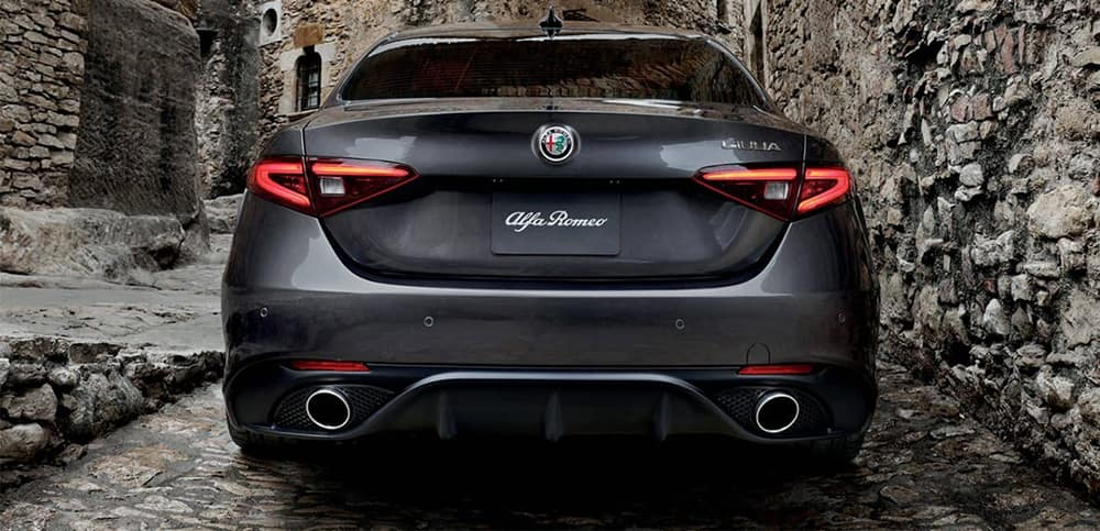 2019 Alfa Romeo Giulia Rear