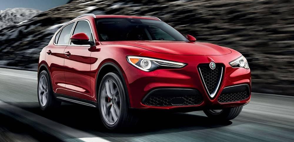 2019 Alfa Romeo Stelvio Driving