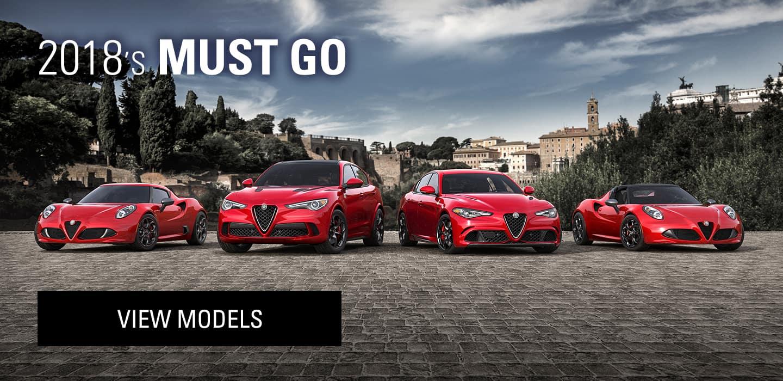 2018 Alfa Romeo's must go