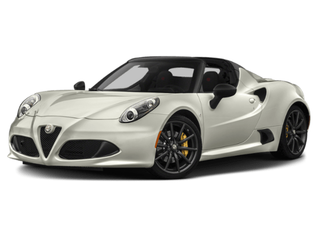 2019 Alfa Romeo 4C in white