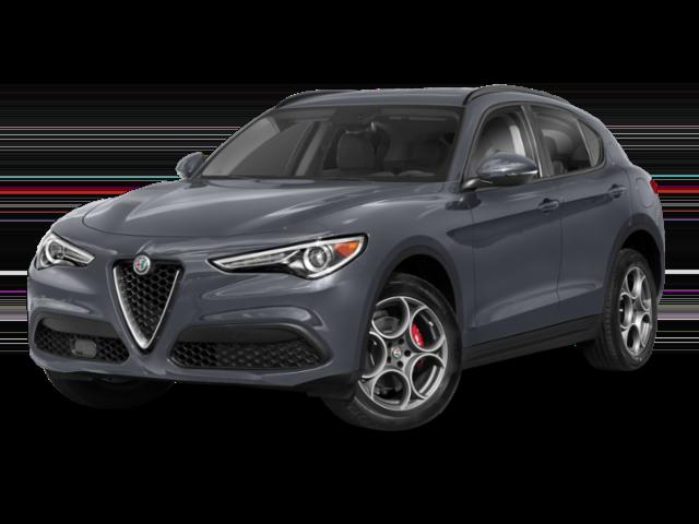 2019 Alfa Romeo Stelvio in grey