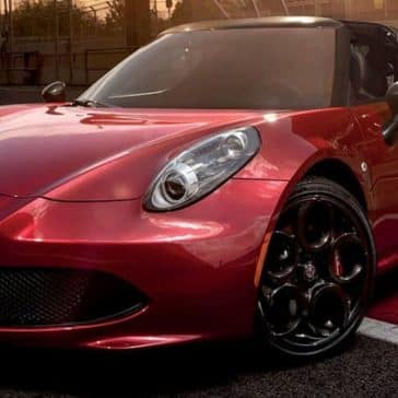 2019 Alfa Romeo 4C Spider Red