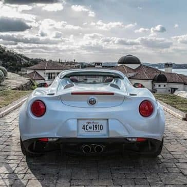2019 Alfa Romeo 4C Spider Rear