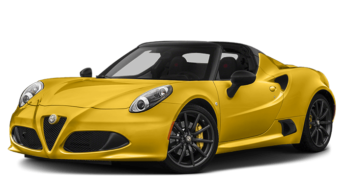 2019 Alfa Romeo 4C Spider Yellow