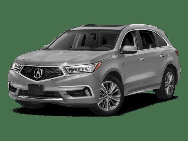 2019 Acura MDX in silver