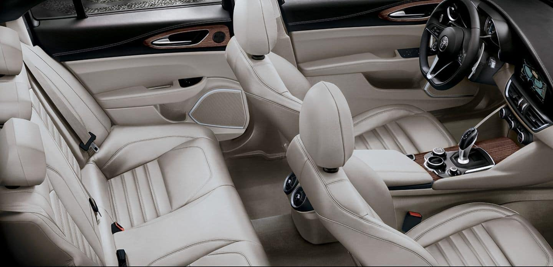 2019 Alfa Romeo Giulia interior