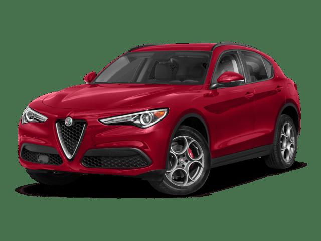 2019 Alfa Romeo Stelvio in red