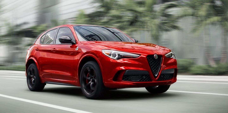 Red 2020 Alfa Romeo Stelvio